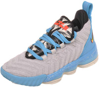 Nike Kids Lebron XVI Basketball Sneaker (Preschool) (Light Bone/Tour Yellow-Bright Crimson) - Expott.com
