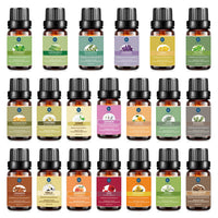 Lagunamoon Premium Essential Oils Set,Top 20 Pure Natural Aromatherapy Oils Lavender Frankincense Peppermint Rose Rosemary Sandalwood - Expott.com