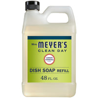 Mrs. Meyer's Liquid Dish Soap Refill, Lemon Verbena, 48 OZ (Pack - 1) (1) - Expott.com