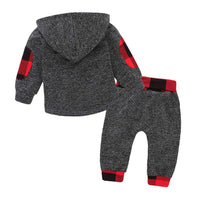 2Pcs Newborn Infant Baby Girl Clothes Long Sleeve Leopard Print Tracksuit Tops+Pants Set Kids Clothes Winter Outfits Set - Expott.com
