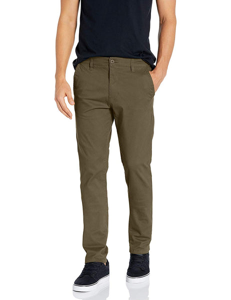 Pt Southpole Men's Flex Stretch Basic Long Chino Pants - Expott.com