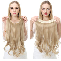 SARLA  Synthetic Wavy Halo hair extensions