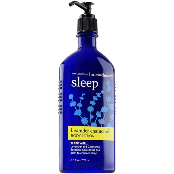 Bath & Body Works 6.5 Ounce Lotion Aromatherapy Sleep Lavender Chamomile - Expott.com