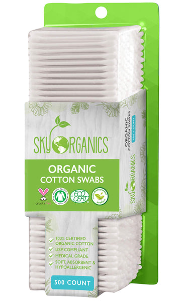 Cotton Swabs Organic by Sky Organics