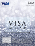 $50 Visa Gift Card (plus $4.95 Purchase Fee) - Expott.com