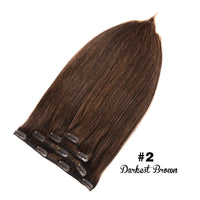 GEELOOK Clip in Hair Extensions 100% Remy Human