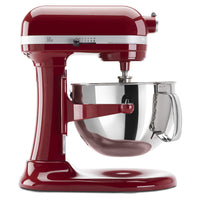 Home KitchenAid KP26M1XER 6 Qt. Professional 600 Series Bowl-Lift Stand Mixer - Empire Red - Expott.com