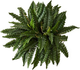 "Nearly Natural 6032-S2 40"" Boston Fern (Set of 2), Green, 2 Piece - Expott.com"