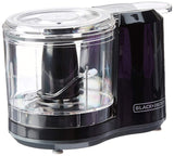 Home BLACK+DECKER 1.5-Cup Electric Food Chopper, Improved Assembly, Black, HC150B - Expott.com