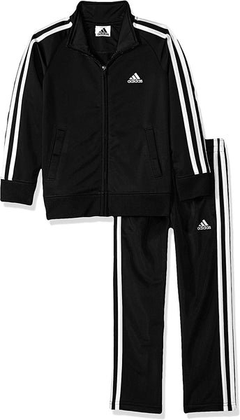 adidas Boys' Tricot Jacket & Pant Clothing Set - Expott.com