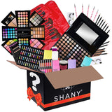 SHANY Holiday Surprise - Exclusive All in One Makeup Bundle - Includes Pro Makeup Brush Set, Eyeshadow Palette,Makeup Set or Lipgloss Set and etc. - COLORS & SELECTION VARY - Expott.com