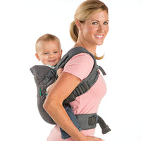 Infantino Flip 4-in-1 Convertible Carrier, Grey - Expott.com