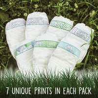 Earth + Eden Baby Diapers, Newborn, 108 Count - Expott.com