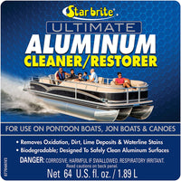 Star Brite Ultimate Aluminum Cleaner & Restorer - Safely Clean Pontoon Boats, Jon Boats & Canoes - Expott.com
