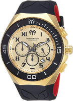 Technomarine Men's 'Manta' Quartz Stainless Steel and Silicone Casual Watch - Expott.com