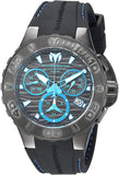 Technomarine Men's Cruise Stainless Steel Quartz Watch with Silicone Strap, Black, 26 (Model: TM-115080) - Expott.com