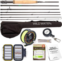 Wild Water Fly Fishing Rod and Reel Combo 7 Piece Fly Rod 5wt 9' Complete Starter Package - Expott.com