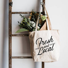 Load image into Gallery viewer, Fresh and Local Tote Bag