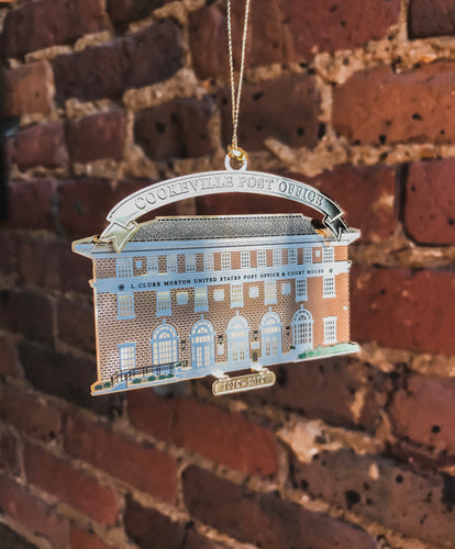 Cookeville Post Office Ornament