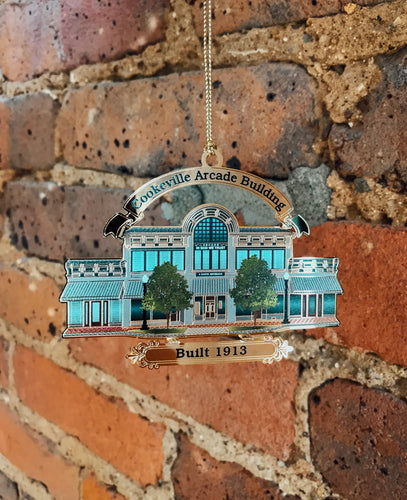 Arcade Building Ornament - NEW FOR 2020