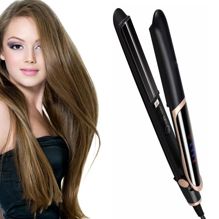 Infrared Hair Straightener Curler Hai-For All Pockets