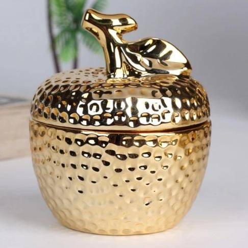 Gold Pineapple Ceramic Sealing Jar Kitchen-For All Pockets