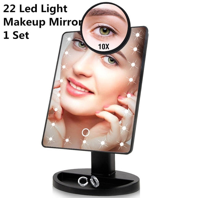 LED Touch Screen Makeup Mirror-For All Pockets