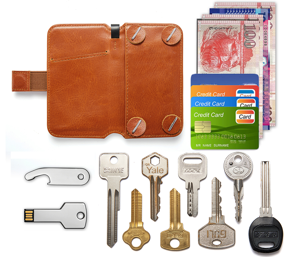 Multifunctional Key Wallet - Easily Access & Room-Saving