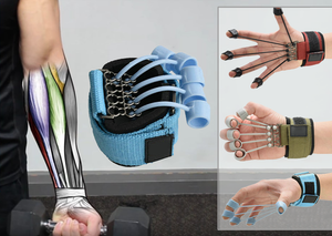 The Most Advanced Finger Extension Exerciser -  Develop The Muscles Or Relieve Stress In Your Hands
