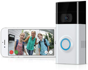 New Version Wi-Fi Video Doorbell  With Motion-Activated HD Security Cam and Siren Alarm