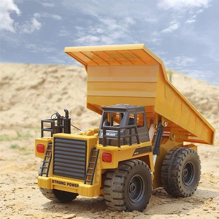 2018 NEW FULL FUNCTIONAL REMOTE CONTROL CONSTRUCTION VEHICLE DUMP TRUCK TOY WITH LIGHTS & SOUNDS