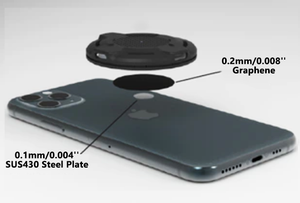 15W Fast Wireless Charger - 360° Auto Alignment Not Limit Your Actions