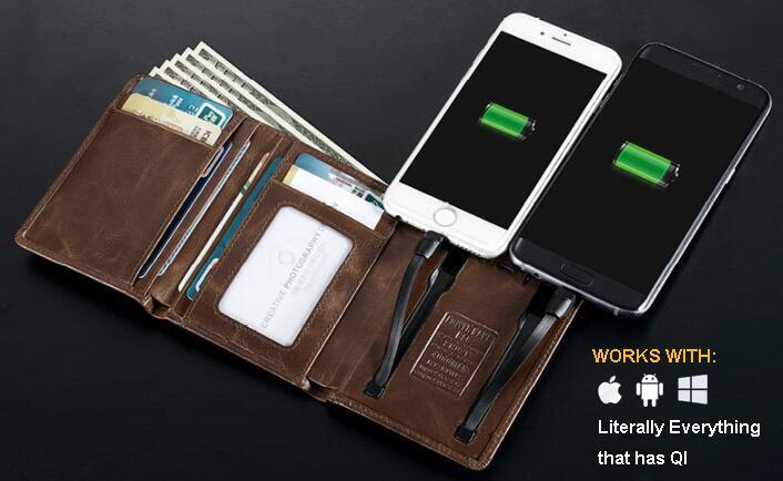 50% OFF-Multifunction Wallet - Charging Your Phone Conveniently