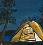 "night camper (8.5""x11.75)"