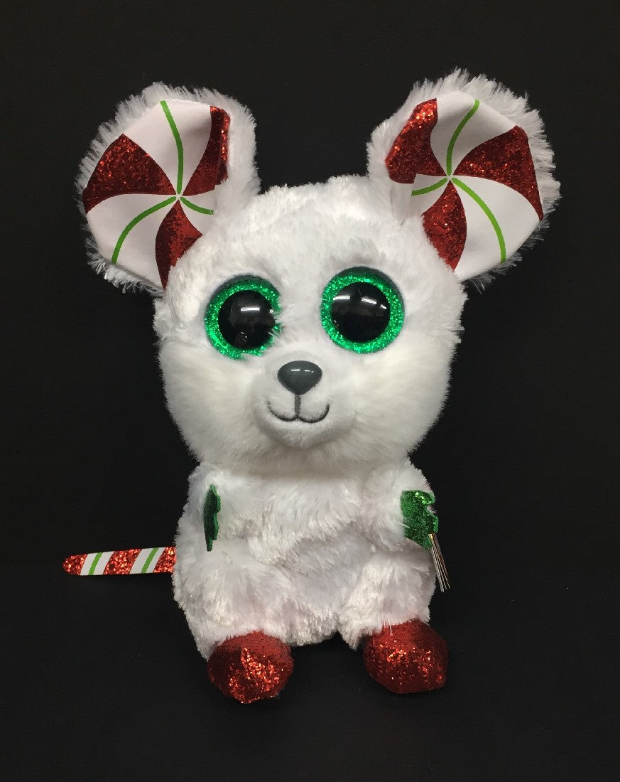 beanie boo-chimney-christmas-mouse