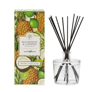 WAVERTREE & LONDON DIFFUSER PINEAPPLE, COCONUT & LIME