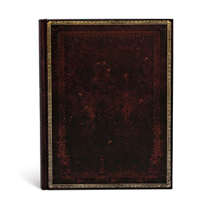 PAPERBLANKS - OLD LEATHER - BLACK MOROCCAN - ULTRA - LINED