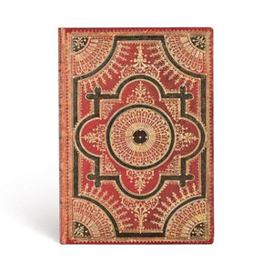 PAPERBLANKS FLEXIS - VENTAGLIO ROSSO KRAFT - MIDI - LINED - 240page