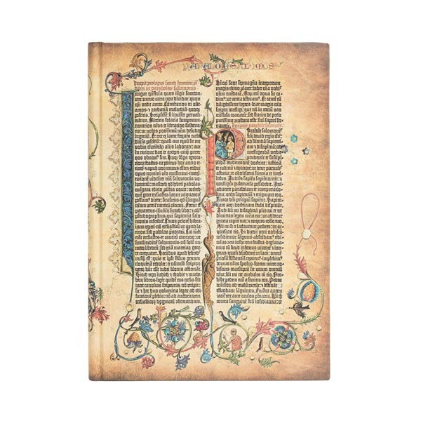 PAPERBLANKS - GUTENBERG BIBLE - PARABOLE - GRANDE - UNLINED