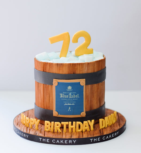 Blue Label Cake