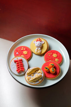 Year Of The Rat Organic Sugar Cookie Set