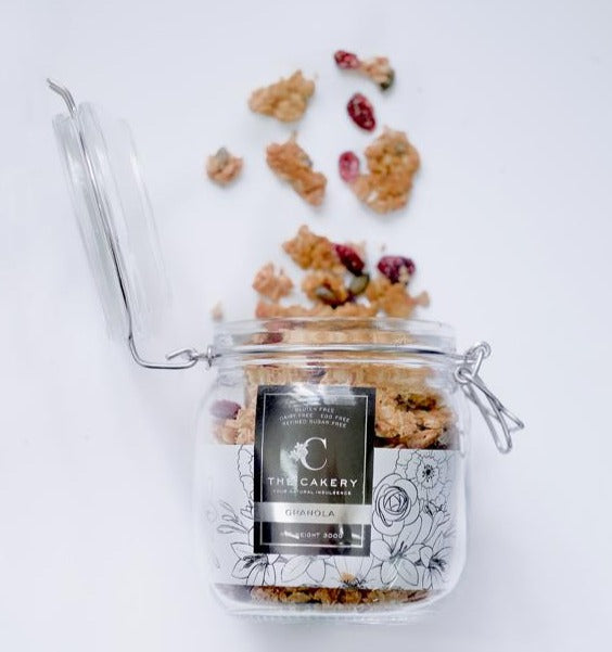 The Cakery Gluten Free Vegan Refined Sugar Free Coconut & Pumpkin Seed Granola