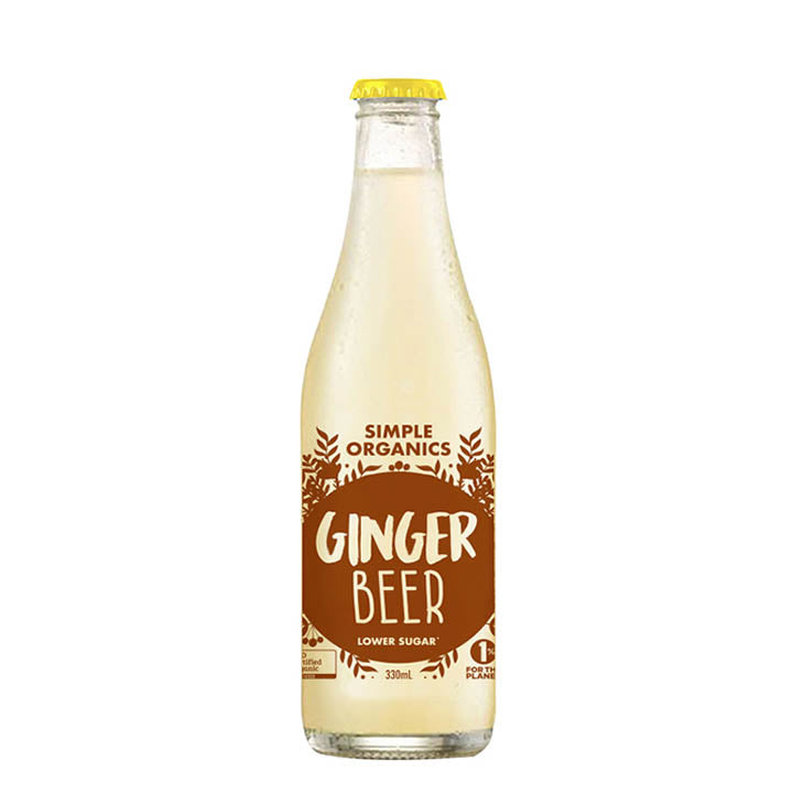 Organic Ginger Beer (330ml)