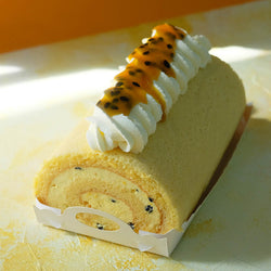 Passionfruit Swiss Roll