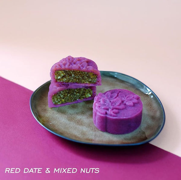 Red Date & Mixed Nuts Mooncake