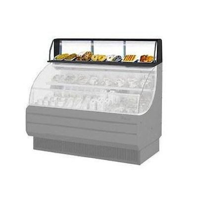 Turbo Air TOMD-60-LB Open Display Merchandiser Top Display Case - Low Profile