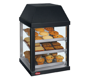 Hatco Countertop Pass-Thru Three Shelf Mini Display Warmer