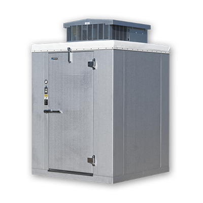 "Master-Bilt 93"" Wide Stainless Steel Exterior And Interior Outdoor Heavy Duty Walk-In Cooler With Voltage 208-230v"