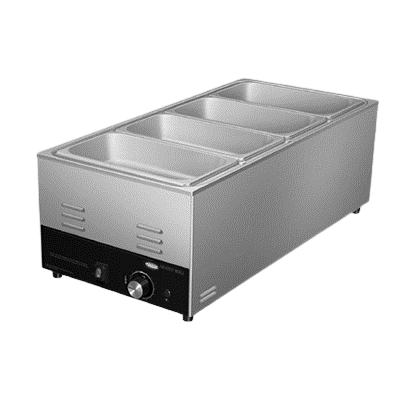 Hatco Electric Countertop Food Warmer/Cooker (1) 1/1 Pan Capacity Stainless Steel
