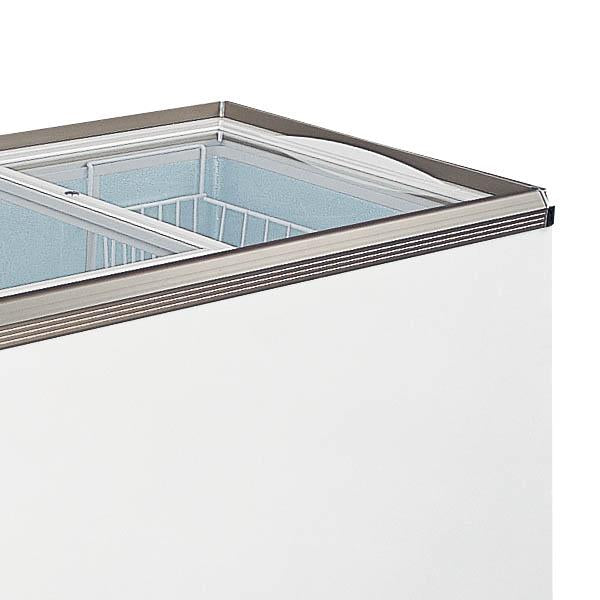 OMCAN 46-inch Ice Cream Reach-In Slide Glass Top  Freezer 11CuFt